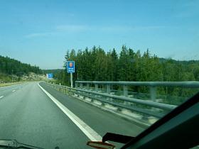 Grenzübergang Schweden-Norwegen