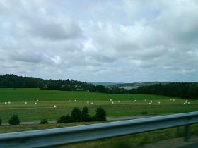 Landschaft nördlich von Göteborg
