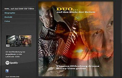 Harry Unte - Das Duo - auf das Ende der Zeiten...